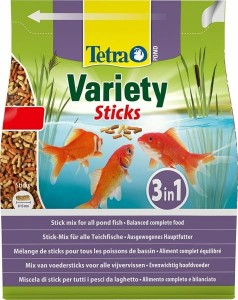 TETRA POND VARIETY STICKS 4L Mix 3 Pokarmów Dla Ryb