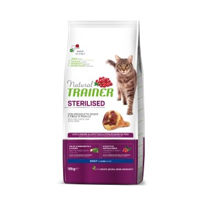 TRAINER NATURAL CAT STERILISED HAM 10KG Szynka Włoska