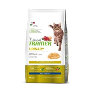 TRAINER NATURAL CAT URINARY 1,5 KG Kurczak + Indyk