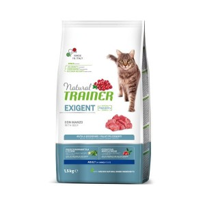 TRAINER NATURAL CAT EXIGENT BEEF 1,5 KG Wołowina