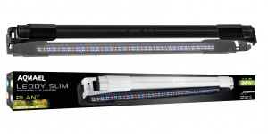 AQUAEL LEDDY Slim Plant 36W BELKA LED 100-120cm CZARNA