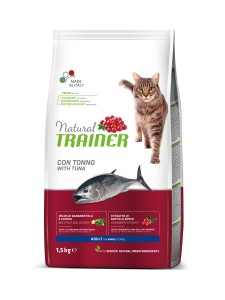 TRAINER NATURAL CAT AULT TUNA 1,5KG - TUŃCZYK