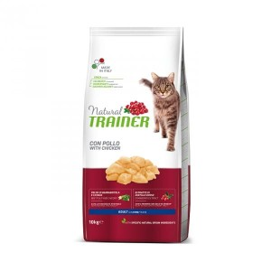 TRAINER NATURAL CAT ADULT CHICKEN 10kg KURCZAK