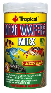 TROPICAL MINI WAFERS MIX 250ml Pokarm Dla Ryb Dennych i Skorupiaków