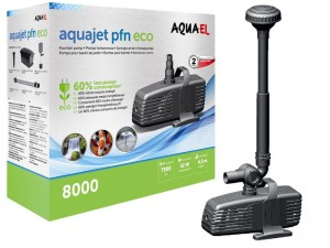 Aquael PFN 8000 ECO 52W Pompa Do Oczka Fontanna