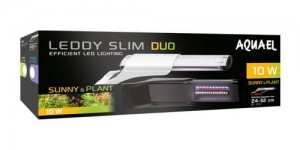 Aquael Leddy Slim Duo Sunny & Plant 10W oświetlenie LED do akwarium