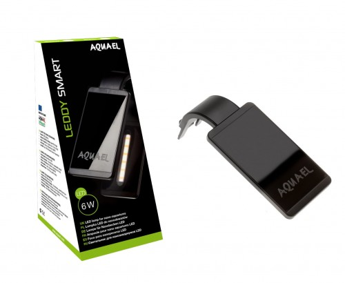 Aquael Leddy Smart 2 Oświetlenie Lampa Led 6w Do Akwarium Plant Czarna
