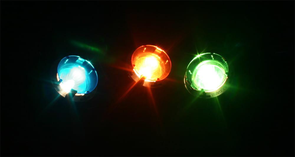 Oświetlenie Led Do Oczka Wodnego Stawu Led 3 3x1w 4 Kolory