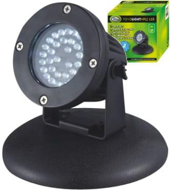 Aqua Nova Lampa Oświetlenie Led Do Oczka Wodnego 22w Z Czujnikiem Zmierzchu